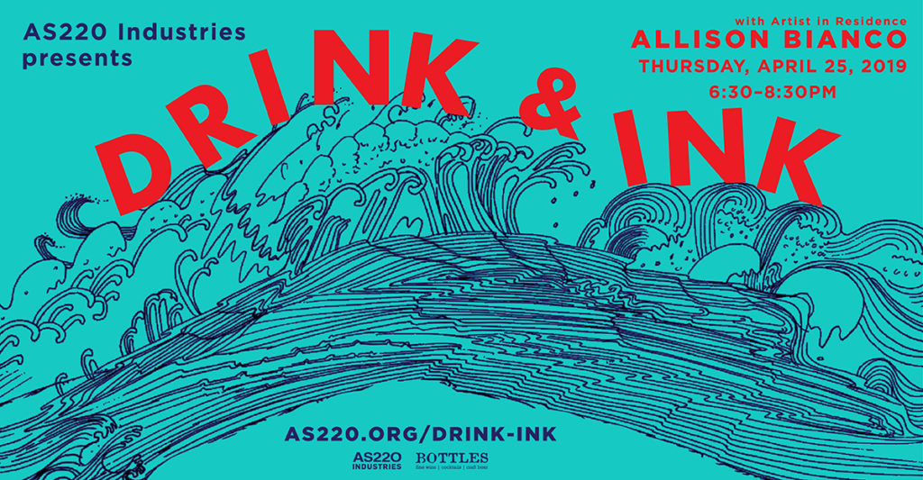 Allison Bianco Drink + Ink Poster